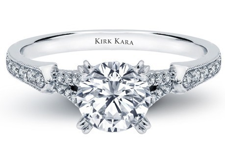Stella Engagement Ring by Kirk Kara