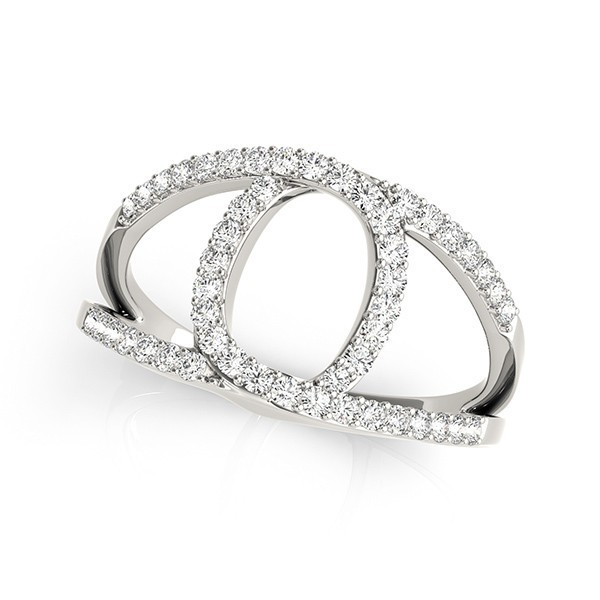 Chanel Inspired Diamond Ring
