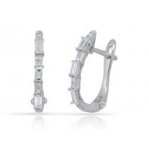 Diamond Earings (Hoops)