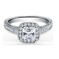 Princess Cut Carmella Ring