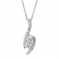 Us Two Diamond Pendant