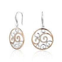 Cappuccino Diamond Earrings